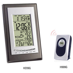 H209G Wireless Weather Station Clock