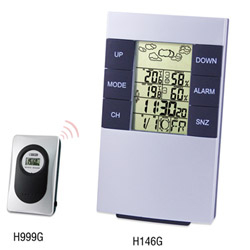 H146G Wireless Weather Station Clock
