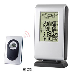 H103G Wireless Weather Station Clock